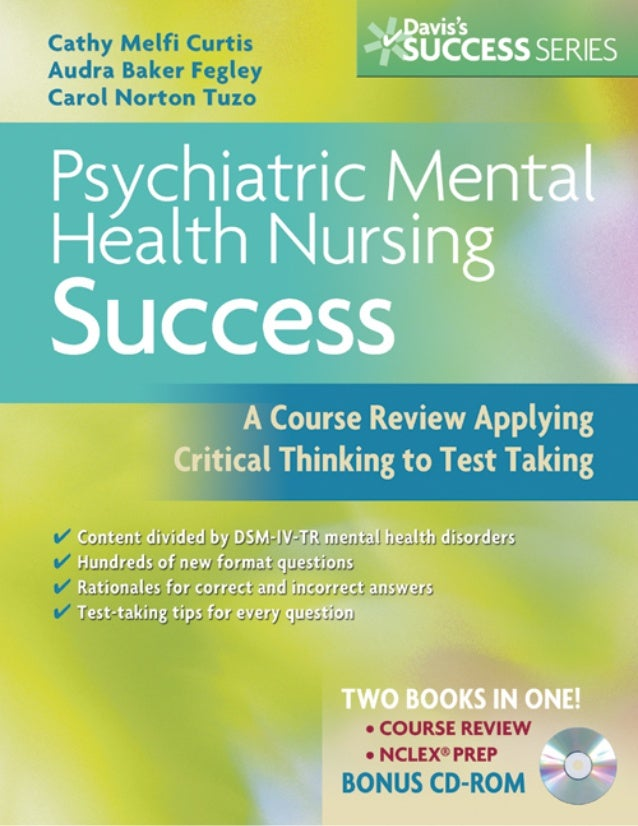 FADavis_Curtis_FM.qxd   10/2/08   4:16 AM   Page i                                     Psychiatric Mental Health          ...