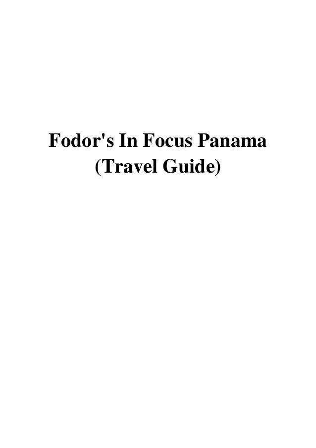 Fodors In Focus Panama