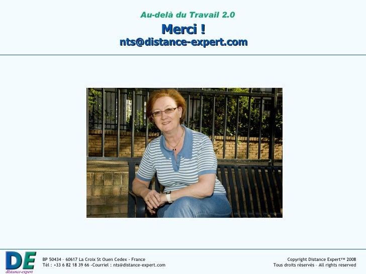 Merci !  nts@distance-expert.com