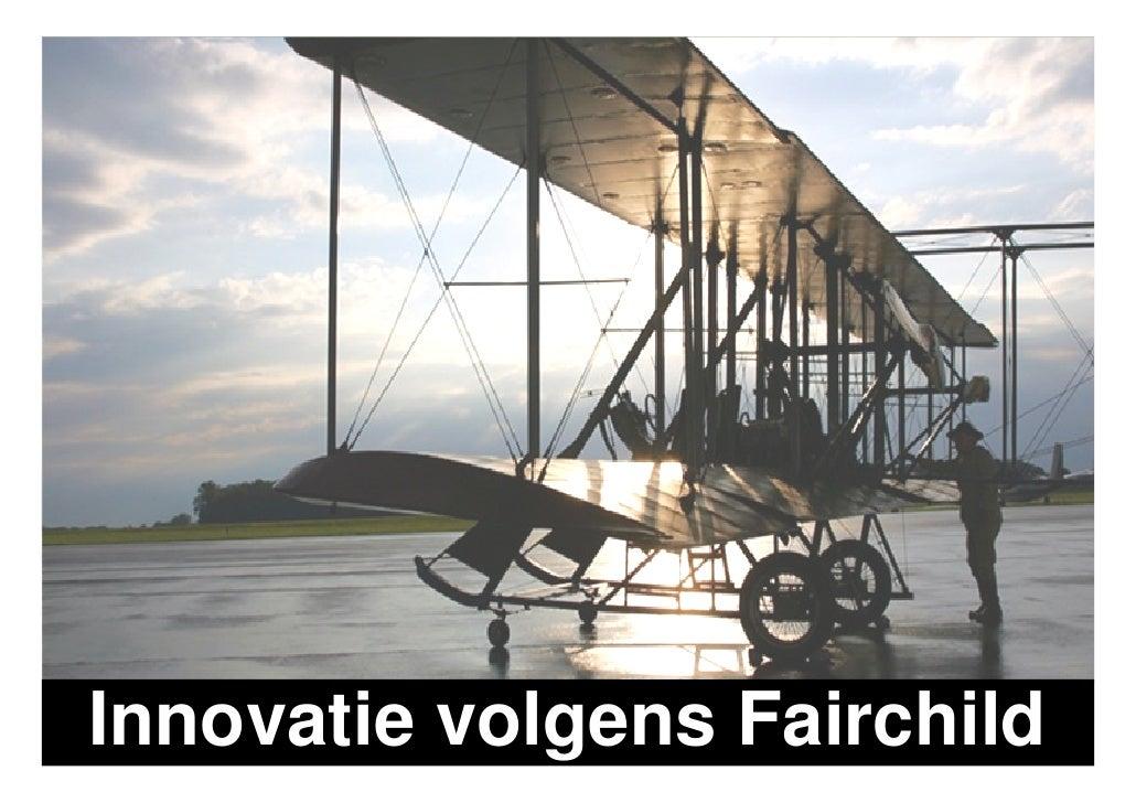 De Fairchild Marketing Visie Op Innovatie En New Business