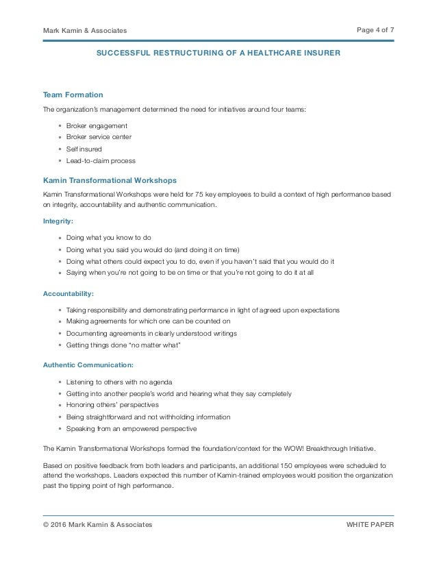 restructure of operations essay Free essays on restructure   the company commits to use the proposed government funding to exclusively sustain and restructure its operations in the united states.