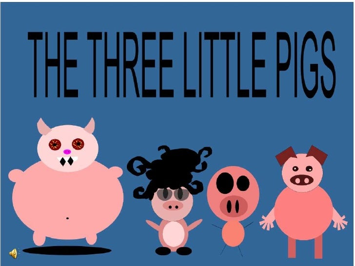 Three Wittle Pigs