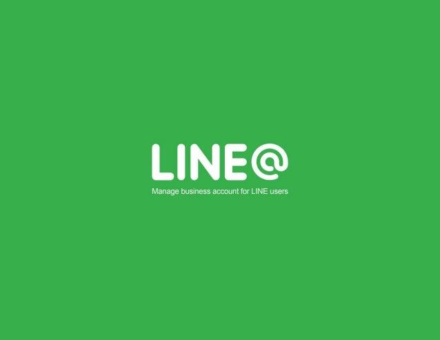 LINE@ - Panduan Pengguna / Manual Book