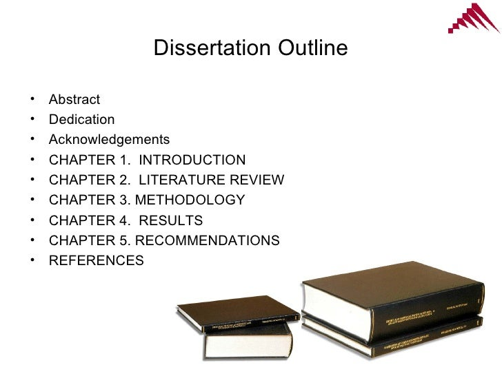 chapter 3 and also 5 dissertation