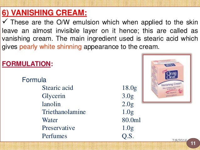 Dental and cosmetic preparations