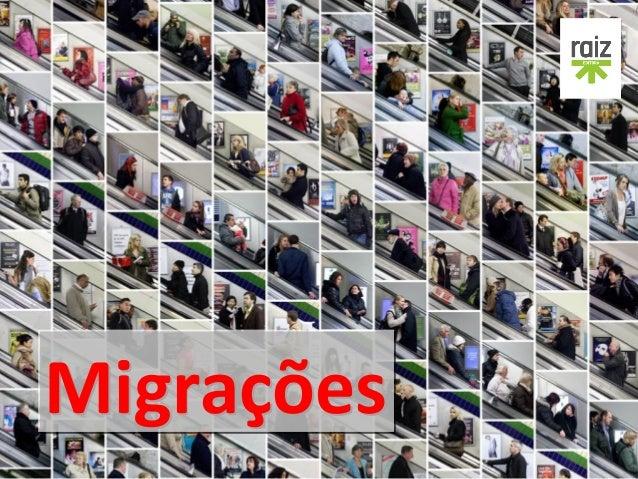 Migrações Geografia - 8.º ano