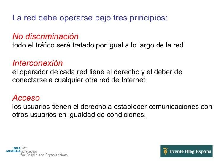 Neutralidad en la red Slide 3