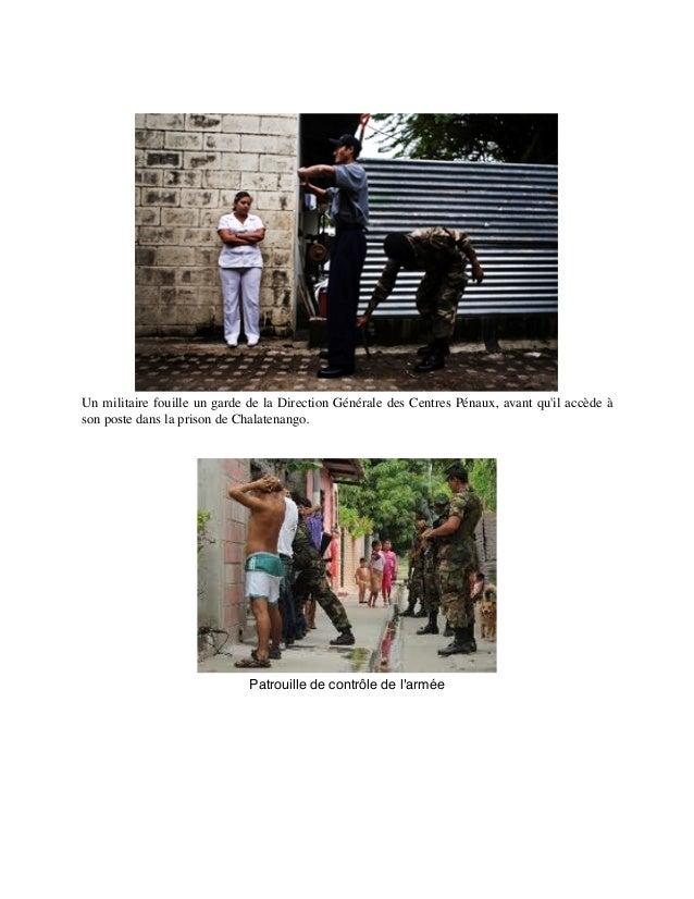 Un militaire fouille un garde de la Direction Générale des Centres Pénaux, avant qu'il accède à son poste dans la prison d...