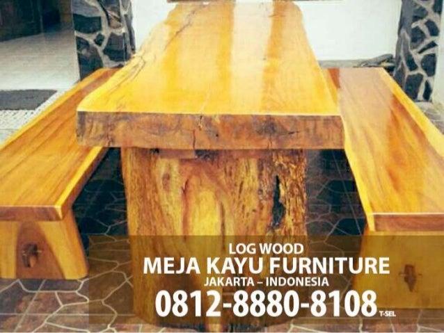 0812 888 08108 Tsel Pusat Mebel Meja Kayu Model Trembesi Jakarta