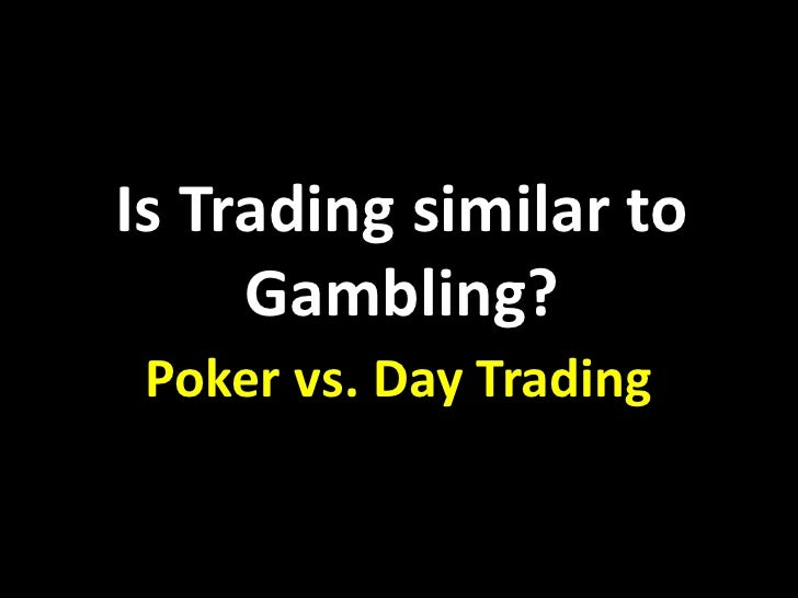 Is futures trading gambling casino ok thackerville winstar