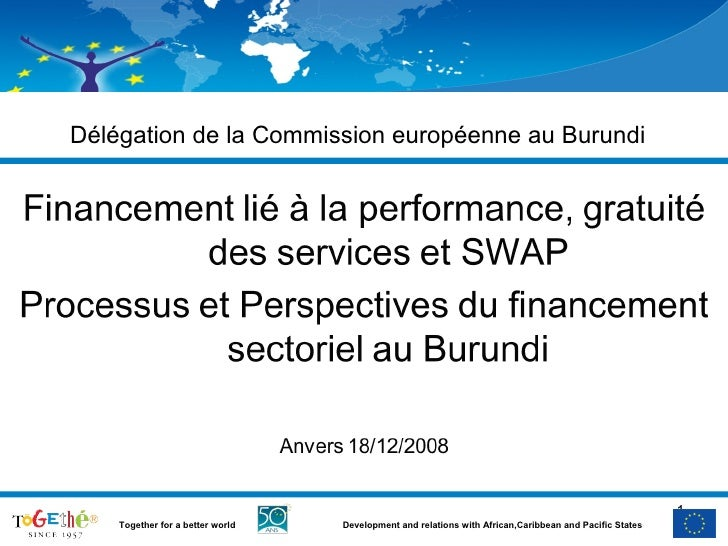 Délégation de la Commission européenne au Burundi                                                                         ...