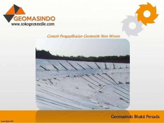 0812 2010 1979 (telkomsel) jual geotextile di liwa Lampung Barat Slide 3