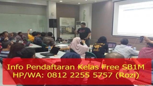 HP/WA 0812-2255-5757 Kursus Bisnis Online di Batam