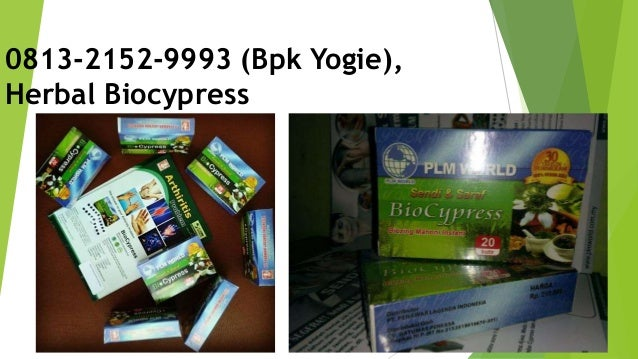 0813-2152-9993 (Bpk Yogie), Herbal Biocypress