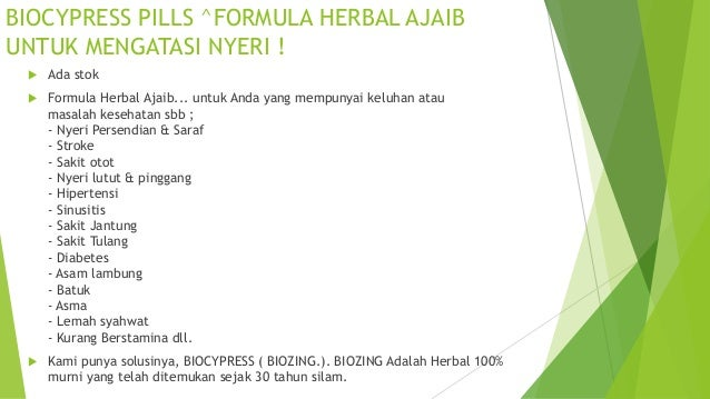 0813 2152-9993(Bpk Yogie), Herbal Anak, BioCypress Slide 2