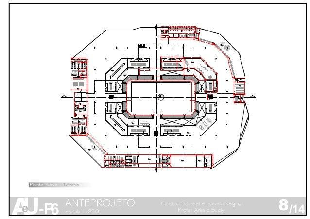 11 2 3 4 5 6 7 8 9 10 19 18 17 16 15 14 13 12 11 20 B'B' A'A' BWC FEM BWC FEM Lanchonete Circ. Vertical Academia Restauran...