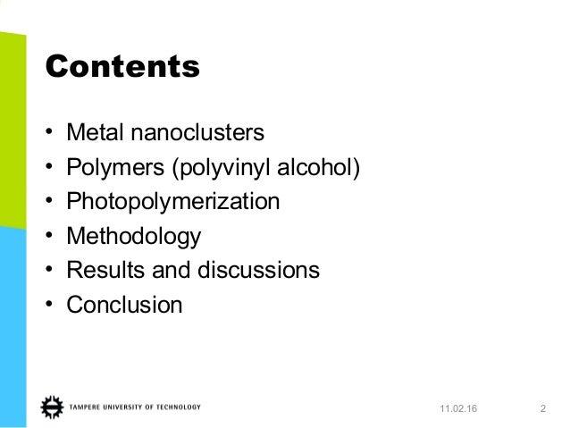 MAster's Thesis presentation Slide 2