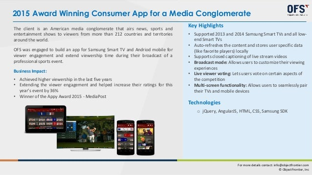 Smart TV App Drives Engagement for a Top Broadcasting Company