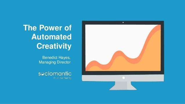 The Power of Automated Creativity Benedict Hayes, Managing Director