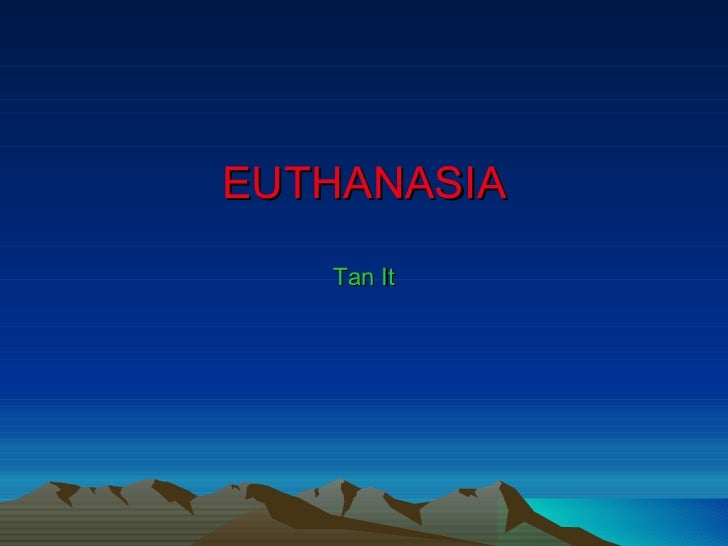 an analysis of the question of whether euthanasia is right or wrong Euthanasia pros and cons: should people have the  the question of should people have the right to  considers euthanasia to be wrong,.