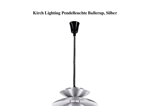 Kirch Lighting Pendelleuchte Ballerup, Silber