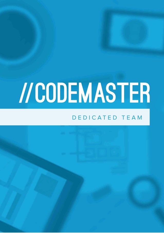 CodemasterProfile