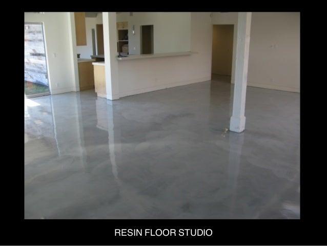 RESIN FLOOR STUDIO  Slide 2