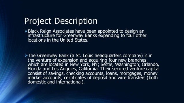 capstone project greenway bank