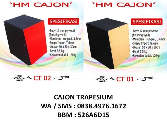 083849761672 Axis Drum Box Cajon Murah Cajon Custom