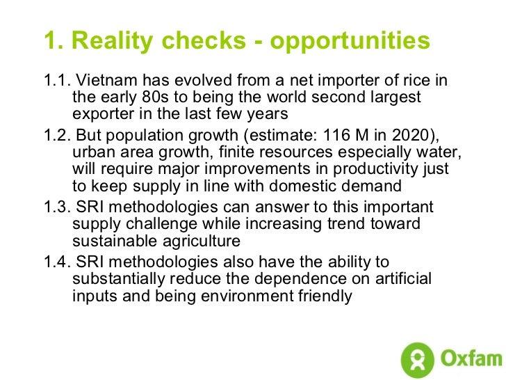 0843 SRI Update on Vietnam Initiative Slide 3