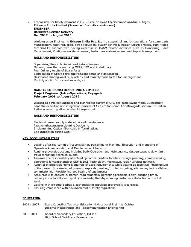 my resume ppc