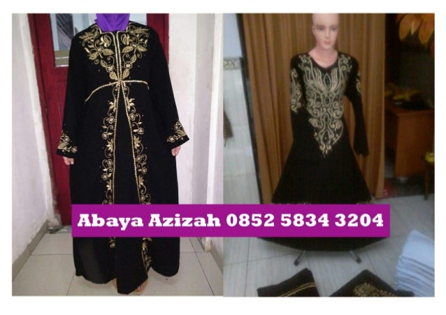 0852 5834 3204 (tsel)toko abaya hitam