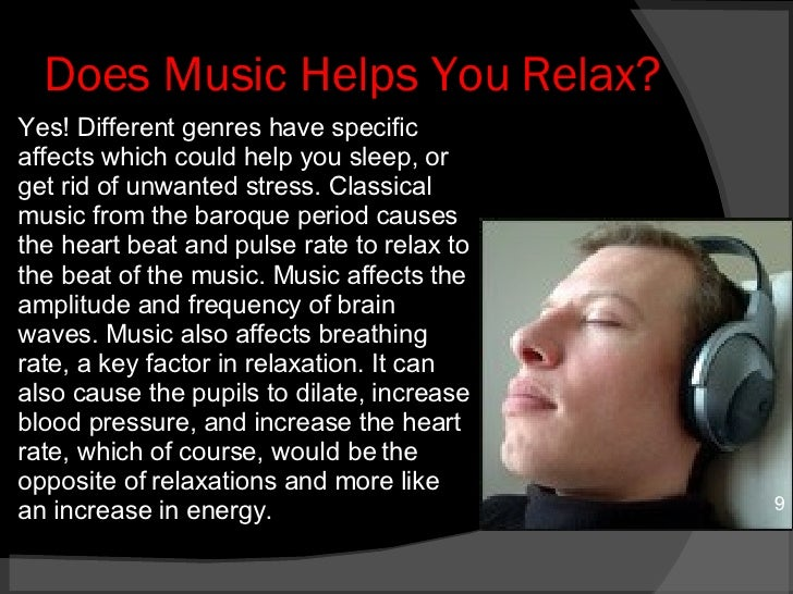 music affects you