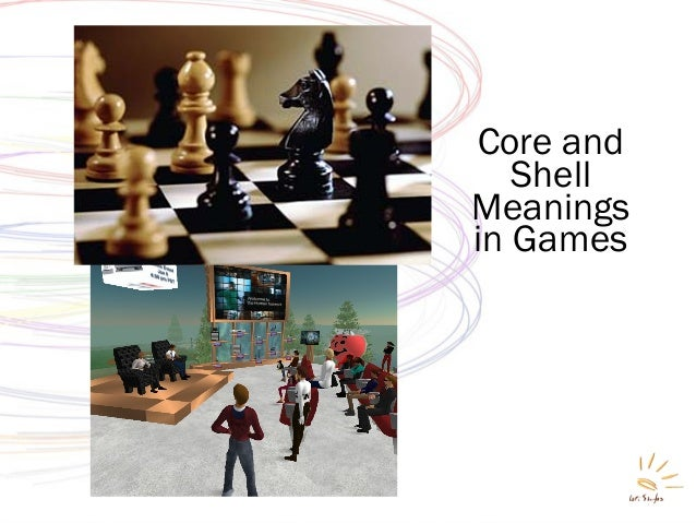 Core and Shell Meanings in Games