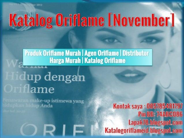085785481797   Katalog Oriflame   November 2013