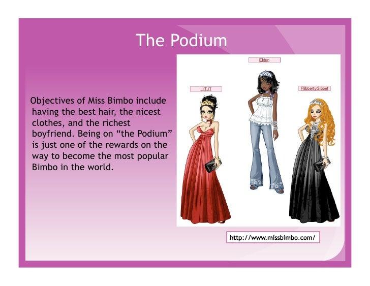 Dress up games like miss bimbo fashion