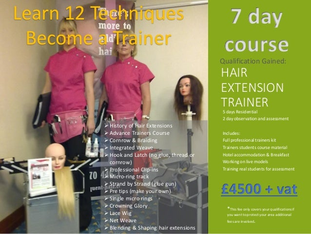 Course prospectus hair loss consultant or trainers course by hair ext 24 selection of individual courses pmusecretfo Gallery