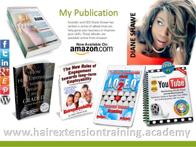Course prospectus hair loss consultant or trainers course by hair ext these ebooks are available online from amazon hairextensiontrainingademy 34 pmusecretfo Image collections