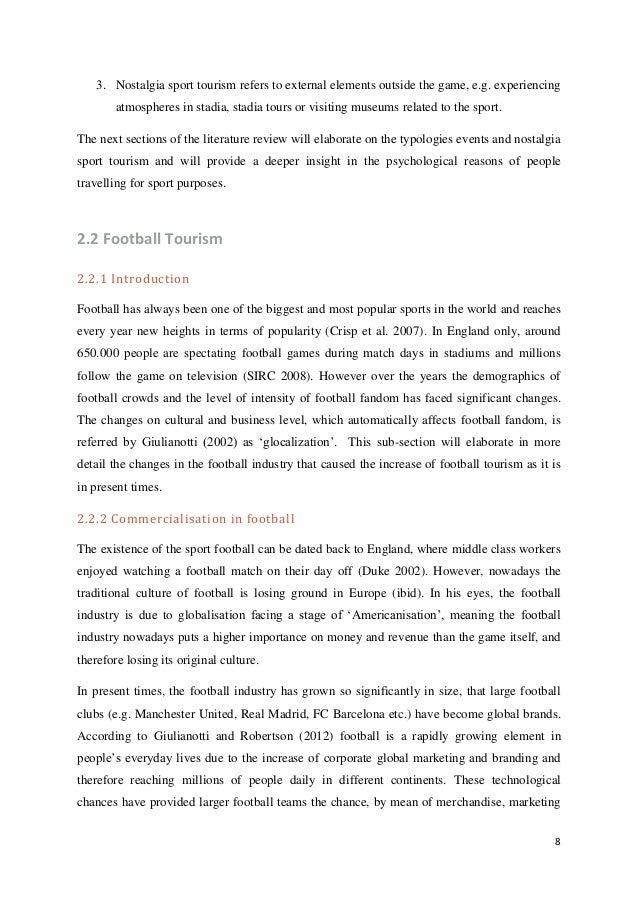 dissertation sport