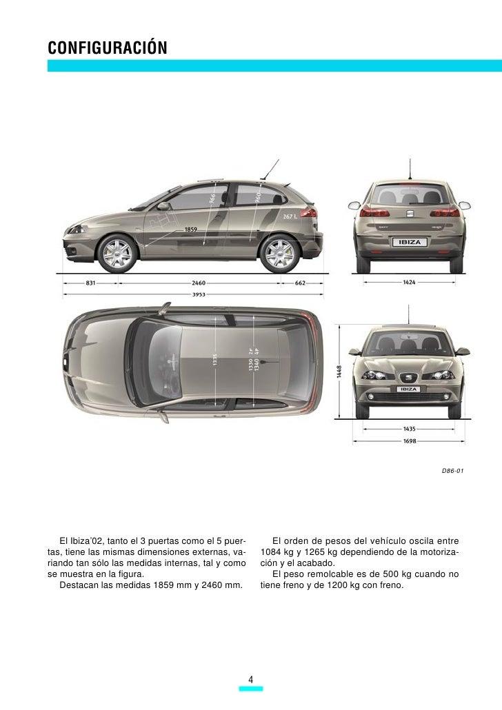 086 carroceria ibiza - Dimensiones seat ...