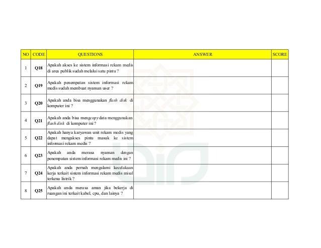 Audit Sistem Informasi Rumah Sakit