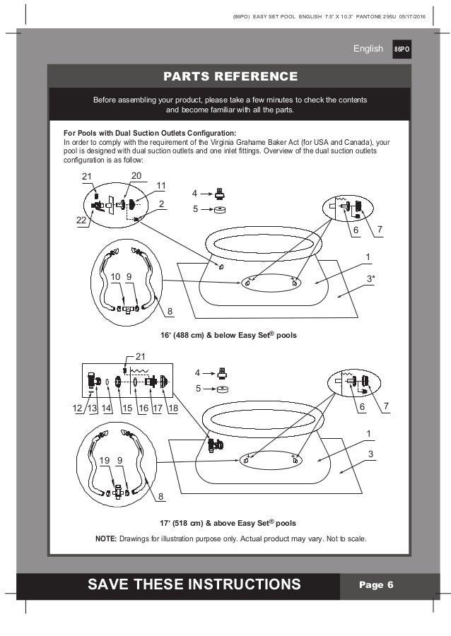 10 Foot Intex Pool Manual Guide