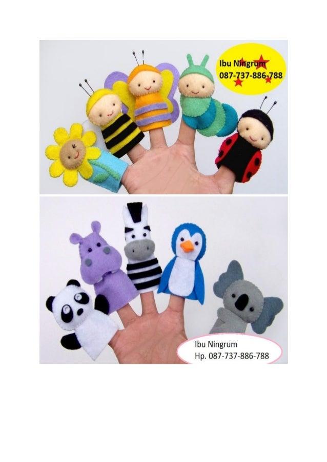 Boneka Jari ini terbuat dari bahan kain flanel 7201134ca5