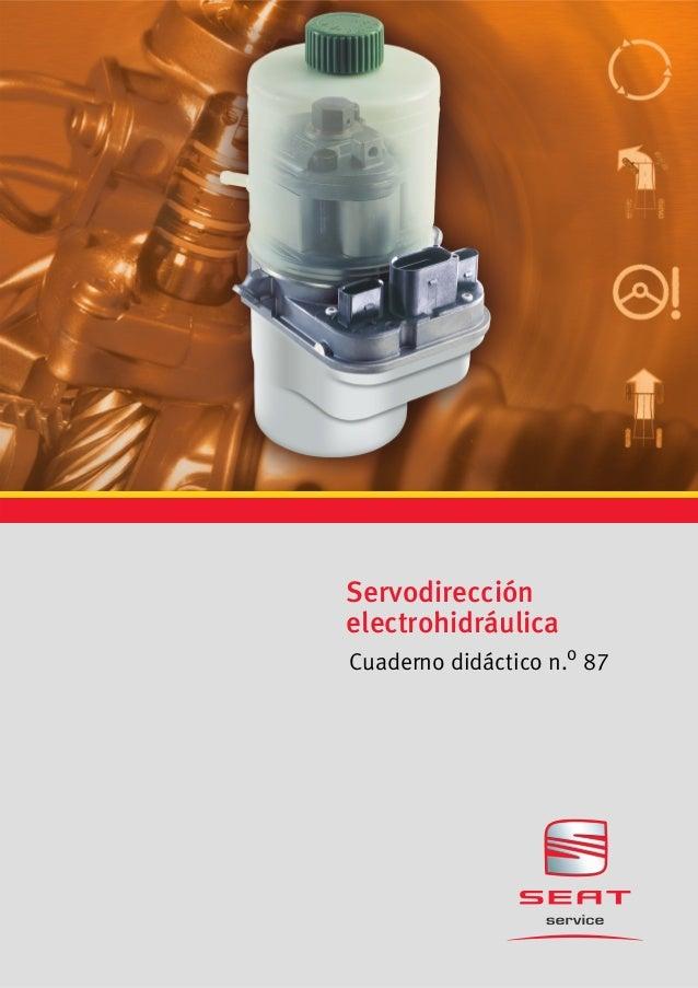 Servodirección electrohidráulica Cuaderno didáctico n.o 87