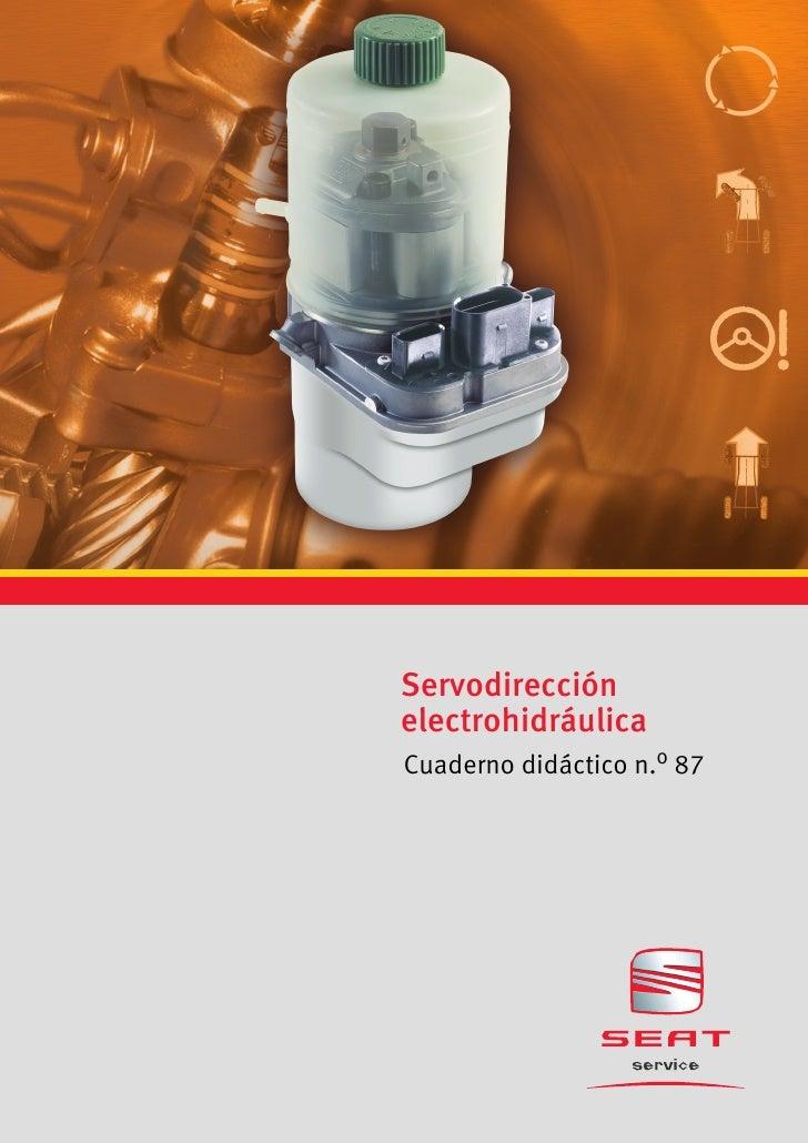 ServodirecciónelectrohidráulicaCuaderno didáctico n.o 87
