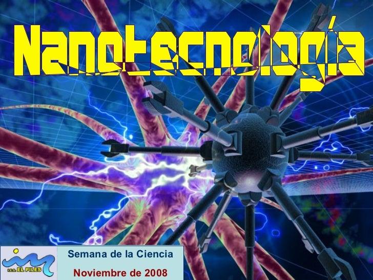 Semana de la Ciencia Noviembre de 2008