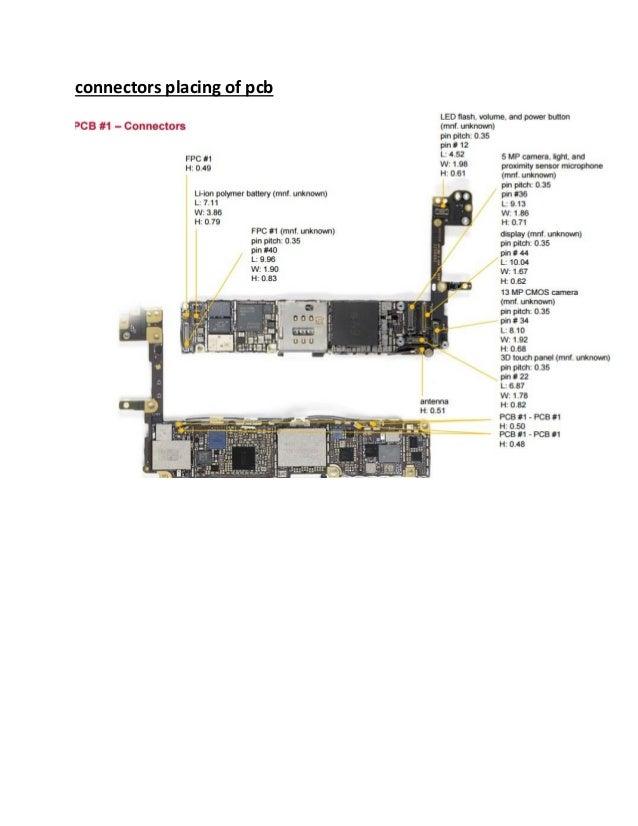 iphone 6s diagram comp schematic rh slideshare net iphone 6 diagram of phone iPhone 6s Diagram