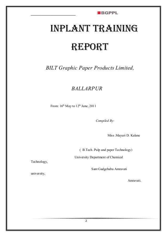 BGPPL REPORT