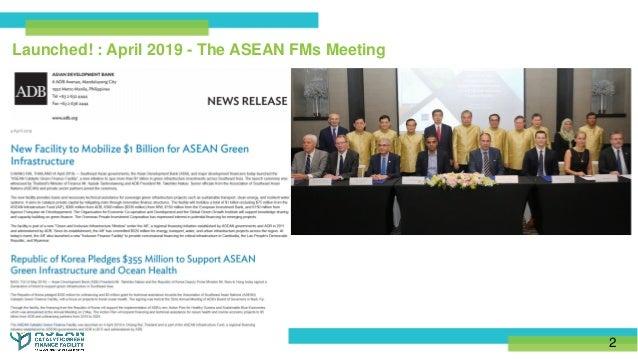 Naeeda Crishna Morgado - ASEAN Catalytic Green Finance Facility Support Slide 2