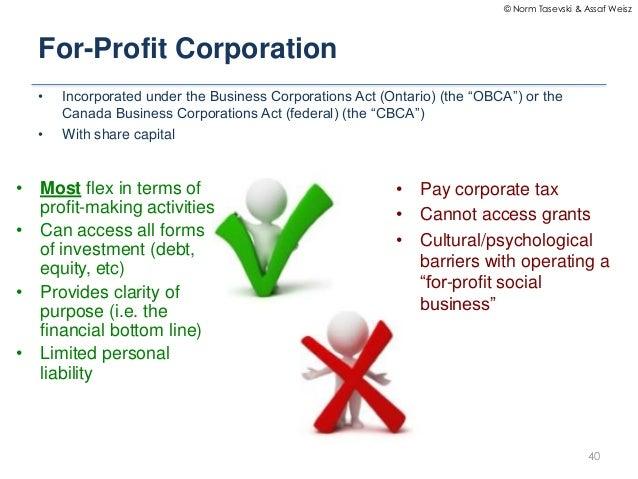 APS 1015 Class 8 - Social Enterprise Considerations